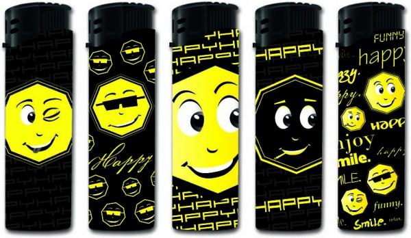 B!FLAME Premium Feuerzeug Happy