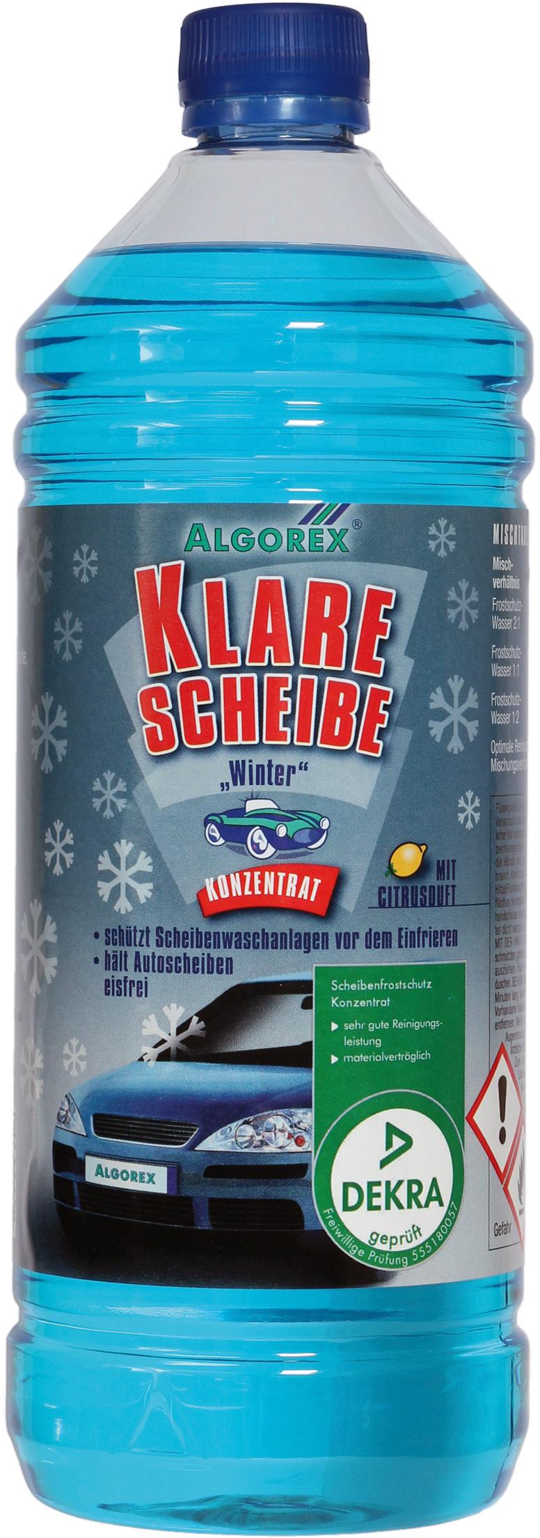 Algorex klare scheibe konzentrat fachgrosshandel haack for Klare scheibe niedernberg