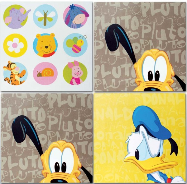 Disney Bilder in Keilrahmen