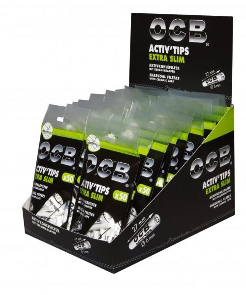 OCB Activ ´Tips Extra Slim, 6 mm 1 DP (20 Packungen)
