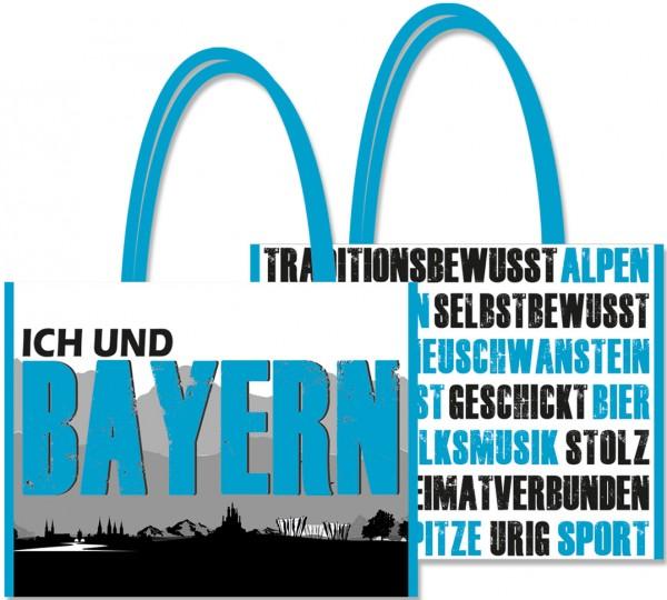 """Shopping-Bag """"Ich und... Bayern"""""""