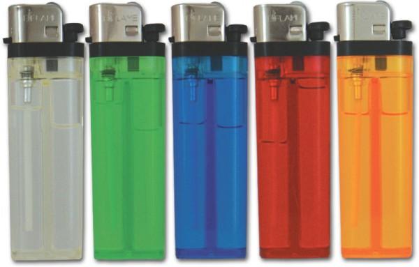 B!FLAME Basic Reibrad-Feuerzeug Transparent