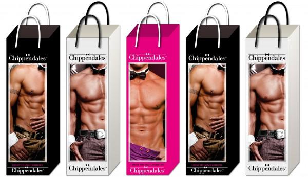 Premium Flaschentüten Chippendales