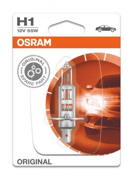Osram PKW Original H1, 12V Einzelblister