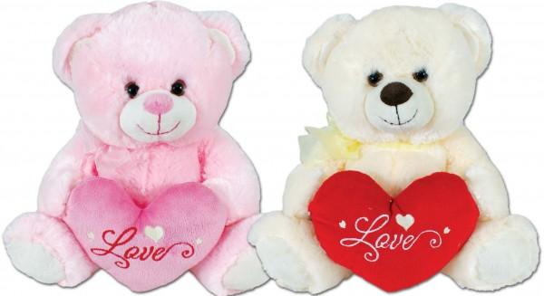 Teddy mit Herz 40 cm