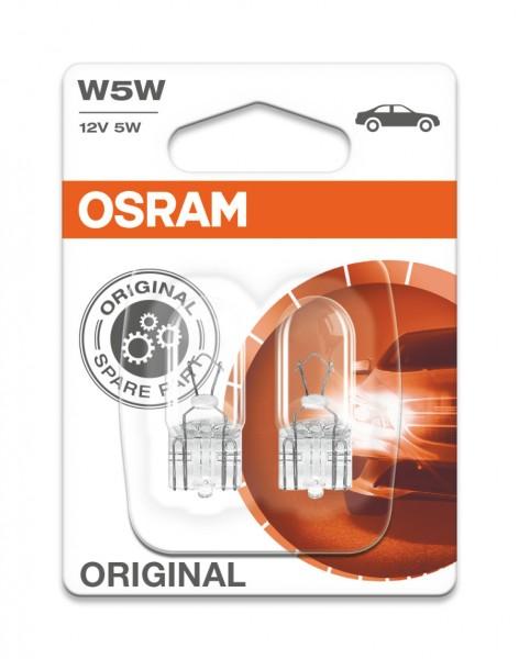 Osram PKW Original W5W, 12V Doppelblister