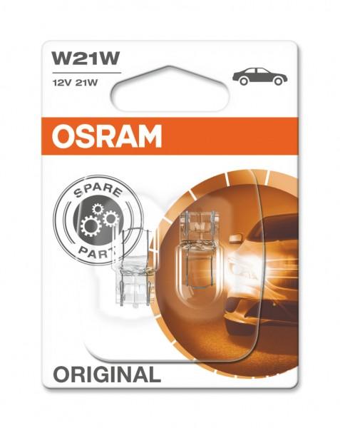 Osram PKW Original W21W, 12V Doppelblister