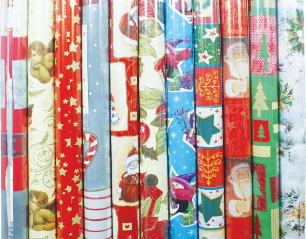 """Geschenkpapier Weihnachten """"Modern"""""""