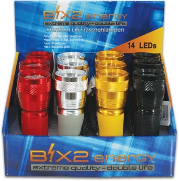 B!X2energy 14er Premium LED-Taschenlampe