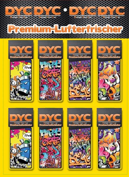 DYC Lufterfrischer Graffiti