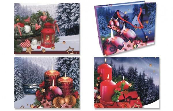 Geschenktüten Weihnachten XL Querformat