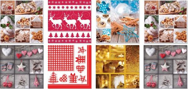 QlovesD Premium Servietten Weihnachten #2