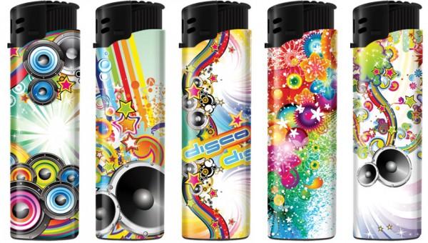 B!FLAME Premium Feuerzeug Pop-Art