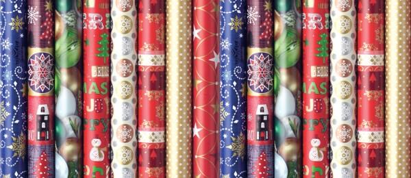 Geschenkpapier Weihnachten 5 m