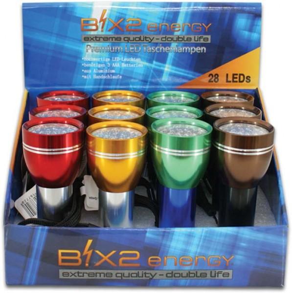 B!X2energy 28er Premium LED-Taschenlampe