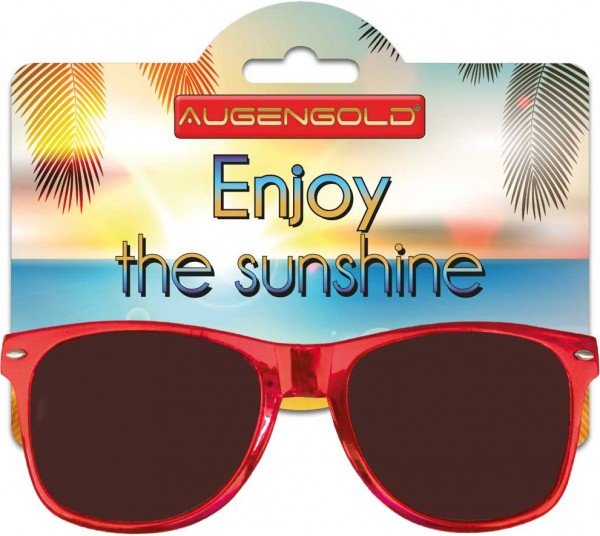 Augengold Sonnenbrille Metallic