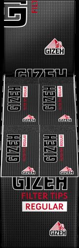 Gizeh Black Filter Tips Regular