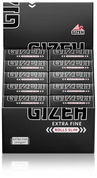 Gizeh Black Rolls Slim 20er