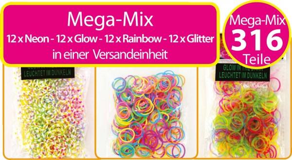 Loombänder - Mega Mix