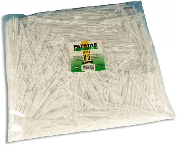 Rührstab Plastik, 1000 Stk./Pack
