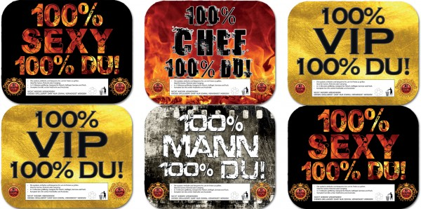 B!100%YOU Einweg-Grill mit echter Holzkohle