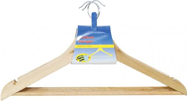 Holz-Kleiderbügel Set Hell