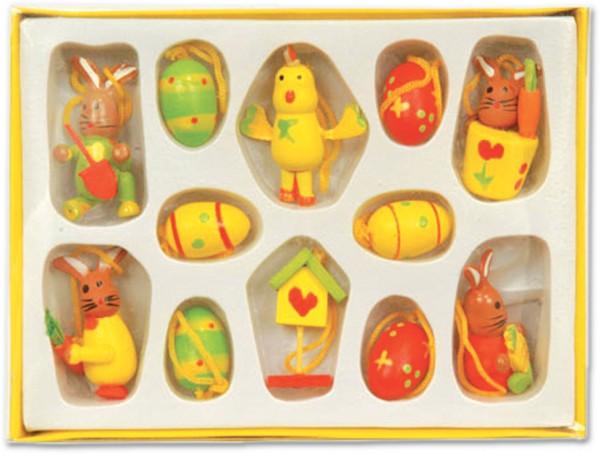 Dekofiguren Aus Holzosterteller 3er Set Fachgrosshandel Haack