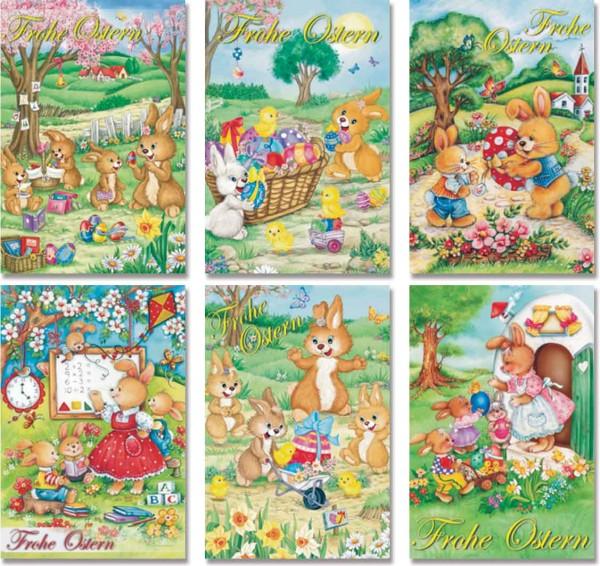 Grußkarte Ostern klassisch