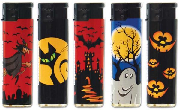 B!FLAME Premium Feuerzeug Halloween