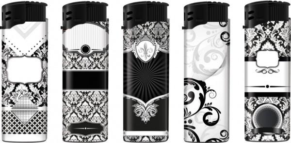 B!FLAME Sturmfeuerzeug Black & White #2