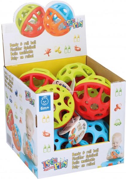 Flexibler Baby-Rasselspielball
