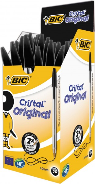 BIC Cristal Pen Schwarz