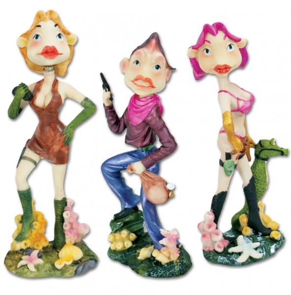 Sexy Keramik-Figuren