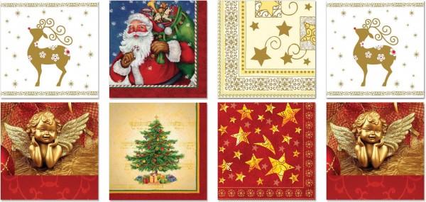 QlovesD Premium Servietten Weihnachten #1