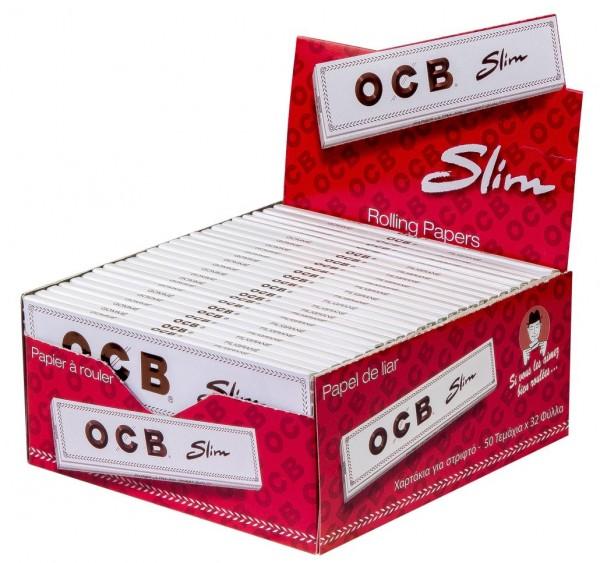 OCB Weiß Long Slim