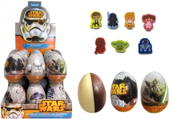 Schokoladen-Überraschungseier Star Wars