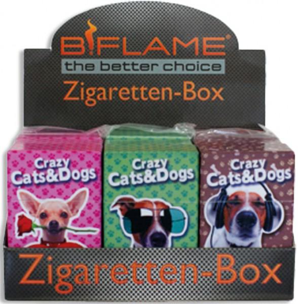 Zigarettenbox Crazy Dogs