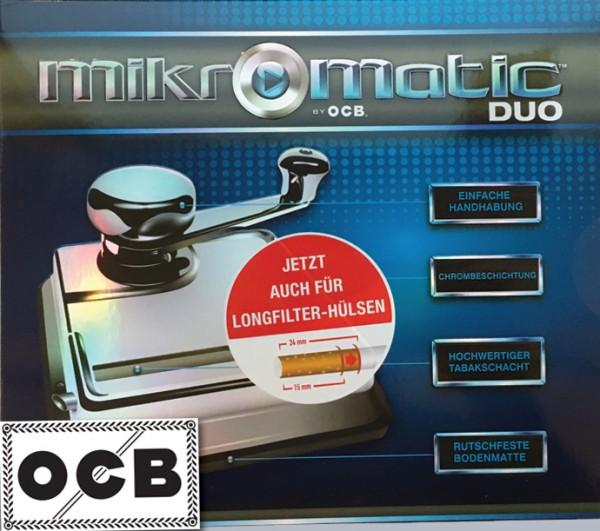 OCB Stopfmaschine Mikromatic Duo