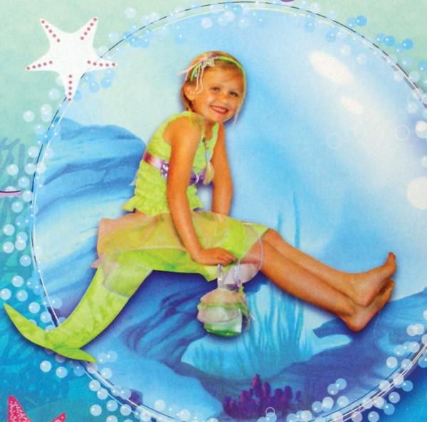 Faschingskostüm Meerjungfrau