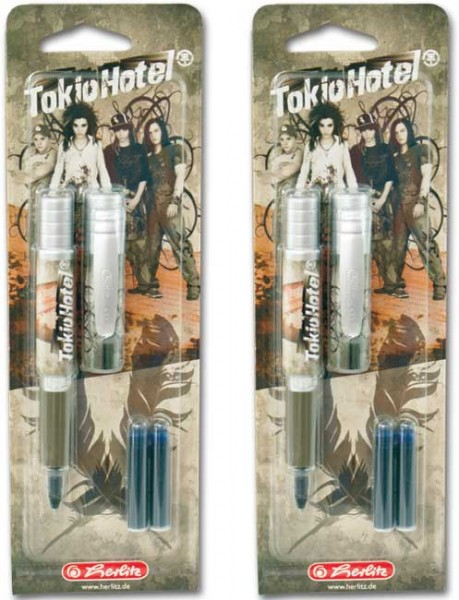 Tokio Hotel Tintenroller