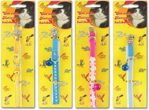 Katzenhalsband mit Glöckchen