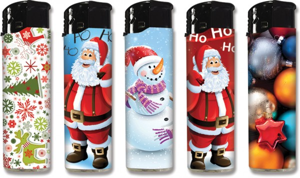 B!FLAME Premium-Feuerzeug Weihnachten