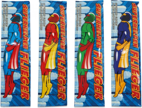 """Styroporflieger """"Superhelden"""""""