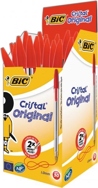 BIC Cristal Pen Rot