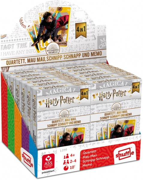 ASS Harry Potter 4-in-1 Spiele