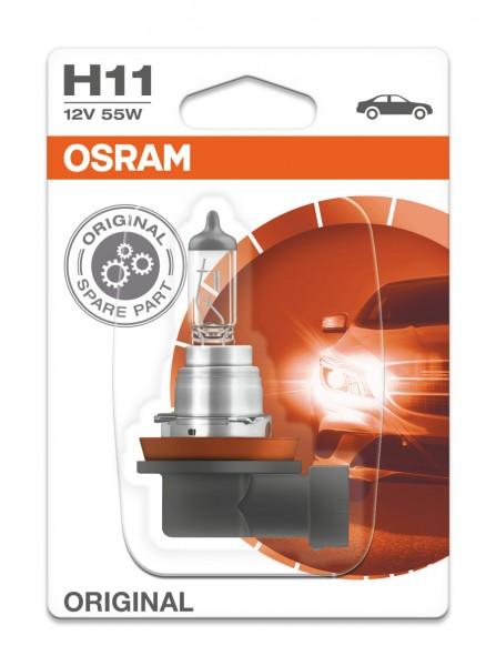 Osram PKW Original H11, 12V Einzelblister