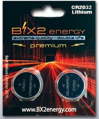 B!X2energy Lithium CR2032