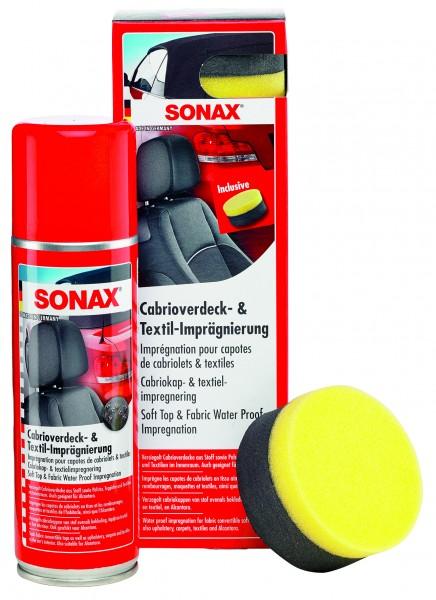 SONAX Cabrioverdeck-Textilimprägnierung