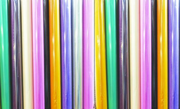 Farbige Geschenkfolie