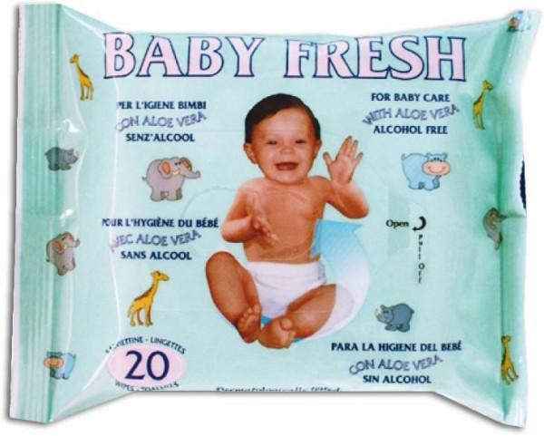 Baby-Feuchttücher